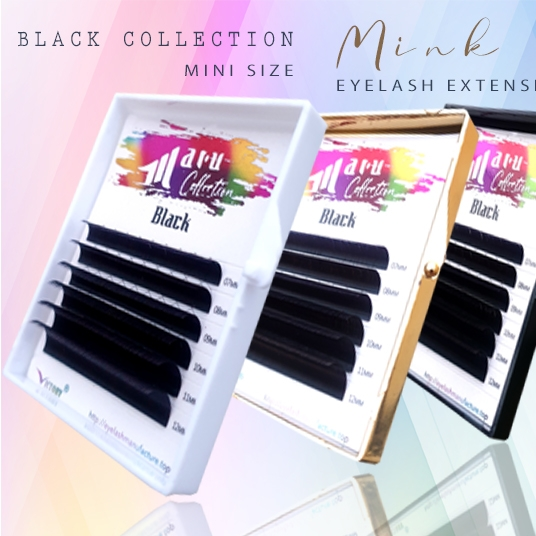 Mink Lashes-Mini Size (6 lines)